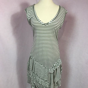 Oonagh by Nanette Lepore Striped Dress Sz S